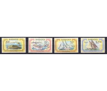 1982 Barbados Şeker Gemileri Damgasız**