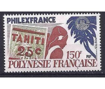 1982 Fransız Polinezyası PHILEXFRANCE 82 Damgasız