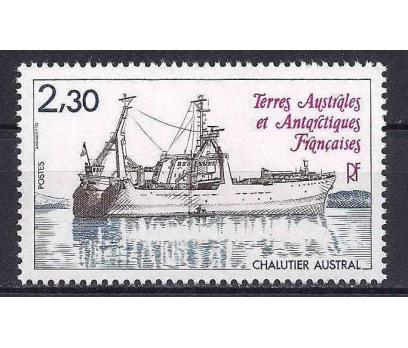 1983 Fransa Antartik Bölgesi Gemiler Damgasız**