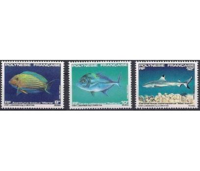 1983 Fransız Polinezyası Balıklar Damgasız**