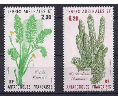 1986 Fransa Antartik Bölgesi Bitkiler Damgasız**