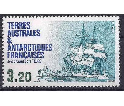 1987 Fransa Antartik Eure Damgasız**