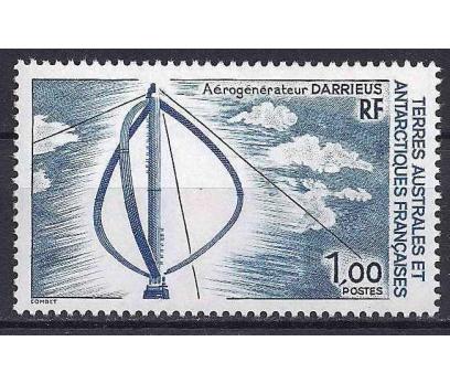 1988 Fransa Antartik Bölgesi Fırıldak Damgasız**