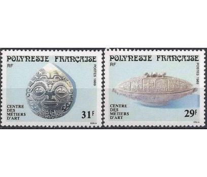 1989 Fransız Polinezyası Mistik Sanat Damgasız**