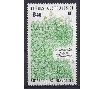 1990 Fransa Antartik Bitkiler Damgasız**