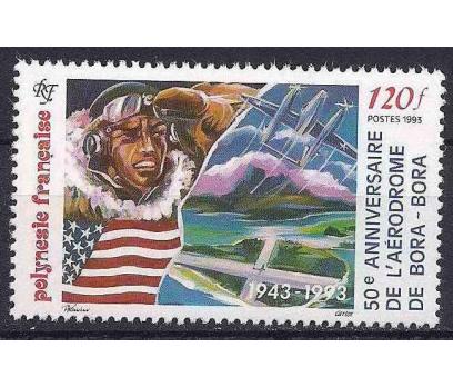 1993 Fransız Polinezyası Bora-Bora Hava Damgasız**