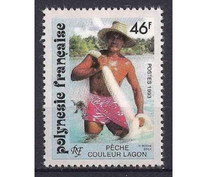 1993 Fransız Polinezyası Couleur Lagun Damgasız**