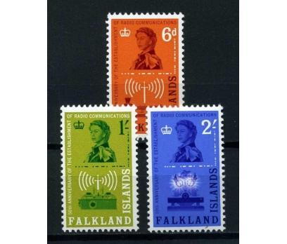 FALKLAND AD. ** 1962  KRALİÇE TAM SERİ (E-0114)