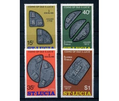 ST.LUCIA ** 1974 PARALAR TAM SERİ SÜPER ( O-1 )