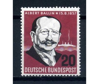 ALMANYA ** 1956 ALBERT BALLIN SÜPER (K-0214)