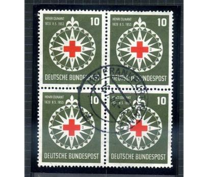 ALMANYA DAMGALI 1953 H.DUNANT DBL TAM S.( E-0114 )
