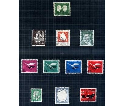 ALMANYA DAMGALI 1954-55 YILI 8 TAM SERİ ( E-0114 )