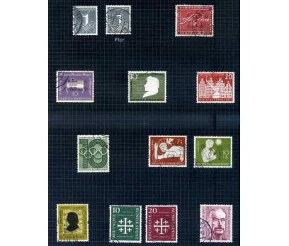 ALMANYA DAMGALI 1955-56 YILI 10 TAM SERİ( E-0114 )