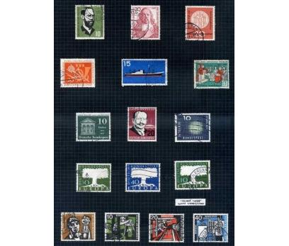 ALMANYA DAMGALI 1957 YILI 12 TAM SERİ ( E-0114 )