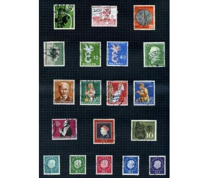 ALMANYA DAMGALI 1958-59 YILI 11 TAM SERİ( E-0114 )