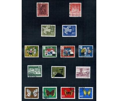 ALMANYA DAMGALI 1961-62 YILI 8 TAM SERİ ( E-0114 )