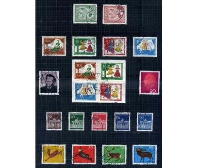 ALMANYA DAMGALI 1965-66  YILI 7 TAM SERİ( E-0114 )
