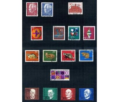 ALMANYA DAMGALI 1967-68 YILI 7 TAM SERİ ( E-0114 )