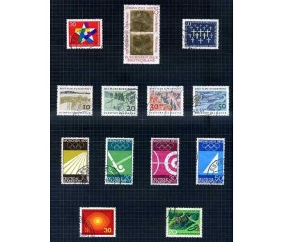 ALMANYA DAMGALI 1969 YILI 7 TAM SERİ ( E-0114 )