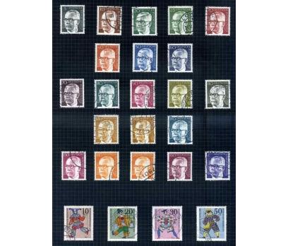 ALMANYA DAMGALI 1970-74 YILI 4 TAM SERİ ( E-0114 )