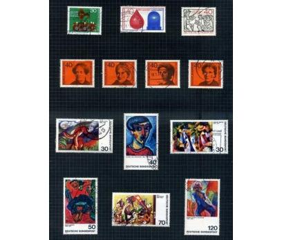 ALMANYA DAMGALI 1973-74 YILI 7 TAM SERİ( E-0114 )