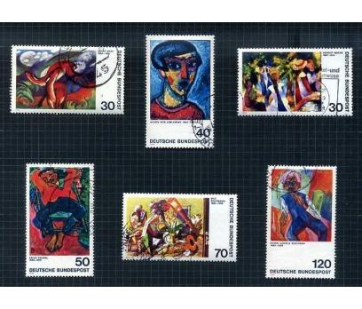 ALMANYA DAMGALI 1973-74 YILI 7 TAM SERİ( E-0114 ) 3