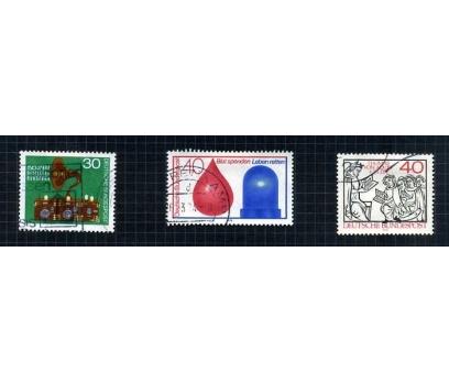 ALMANYA DAMGALI 1973-74 YILI 7 TAM SERİ( E-0114 ) 4