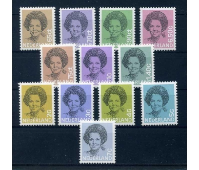 HOLLANDA 1981-86 ** POSTA 4 TAM S. SÜPER( K-0214 )