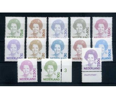 HOLLANDA 1991-94 ** POSTA 7 TAM S. SÜPER( K-0214 )