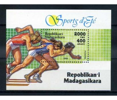 MADAGASKAR ** 1994 ATLETİZM BLOK ( K-0114 )