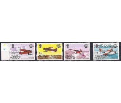 1983 İngiltere Antartik Havacılık Asrı Damgasız**