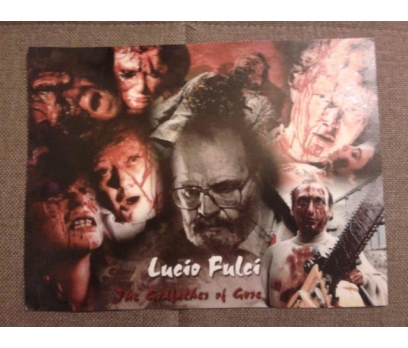 The Godfather of Gore Lucio Fulci Sinema Lobi Kart