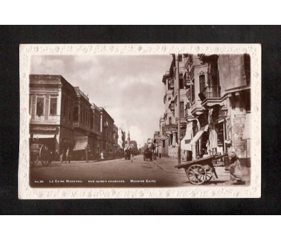 -MISIR KAHİRE 1920 YILLAR-FOTOKART