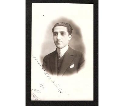 1928 YILI GENÇ BİR BEY FOTOGRAF.