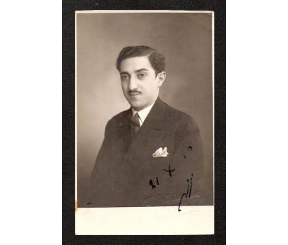 1930 YILI GENÇ BİR BEY FOTOGRAF.