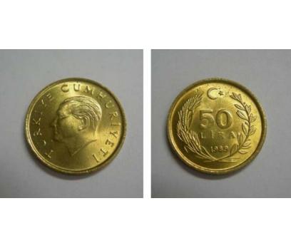 1989 PİRİNÇ 50 LİRA ÇİL.