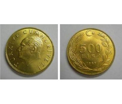 1989 PİRİNÇ 500 LİRA ÇİL.