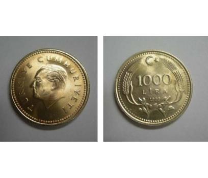 1993 BAKIR-NİKEL 1000 LİRA ÇİL.