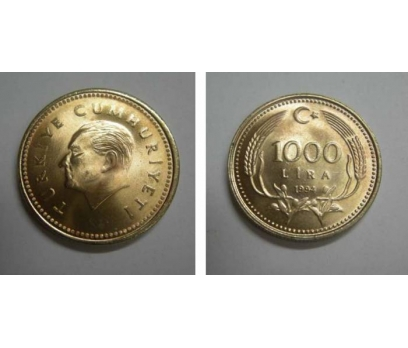 1994 BAKIR-NİKEL 1000 LİRA ÇİL.