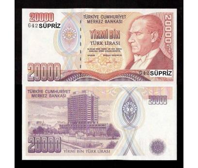 7.EMİSYON 20.000 LİRA (G-42) SERİSİ ÇİL. 1