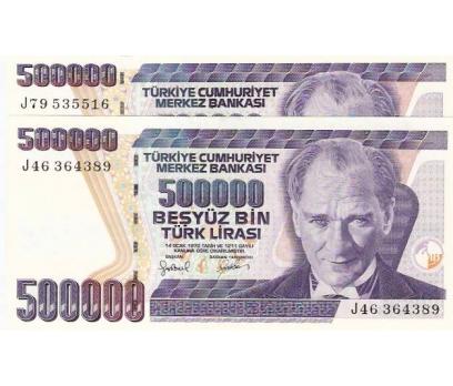 7.EMİSYON 500.000 LİRA J TAKIM ÇİLLLL.