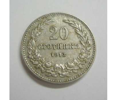 BULGARİSTAN 20 STOTINKI 1913 NİKEL 1