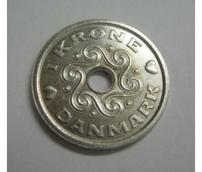 DANİMARKA 1 KRON 1997 NİKEL ÇİL.