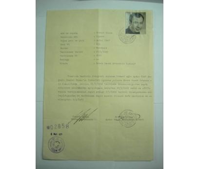 DİLEKÇE-ERKEK SANAT OKULU-1971 YILI.