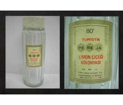 ECZACILIK-PE-RE-JA (PEREJA) KOLONYA ŞİŞESİ.
