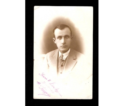 GENÇ BİR BEY 1930 TARİHLİ-FOTOGRAF.
