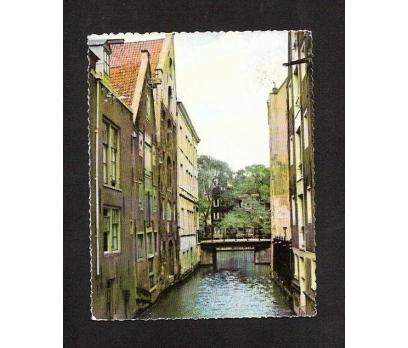 HOLLANDA AMSTERDAM-ESKİ KÜÇÜK BOY KARTPOSTAL