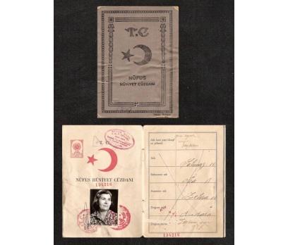 NÜFUS HÜVİYET CÜZDANI-DOĞUM YILI 1922