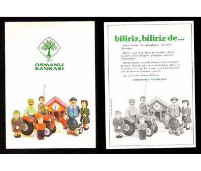 OSMANLI BANKASI REKLAM BROŞÜRÜ