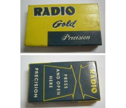 RADIO MARKA JİLET ORJİNAL KUTUSUNDA